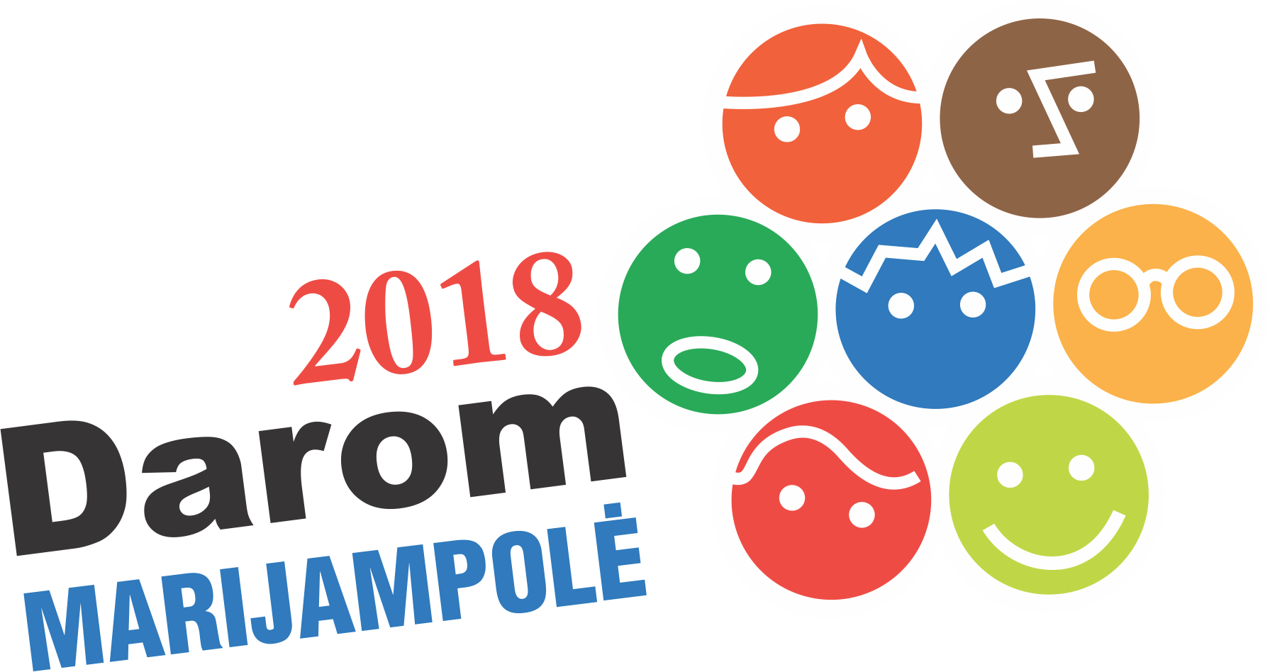 Darom Marijampolė 2018 logo