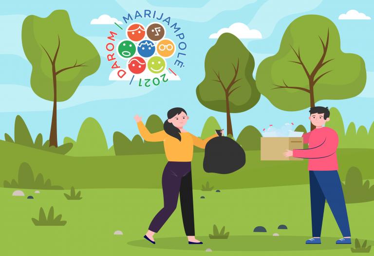 Read more about the article Informacija akcijos DAROM MARIJAMPOLĖ 2021 dalyviams
